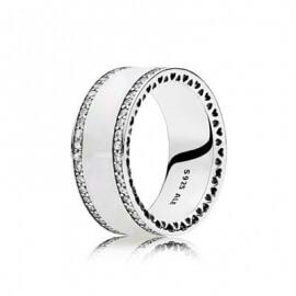 Кольцо «Широкое в стиле Pandora»