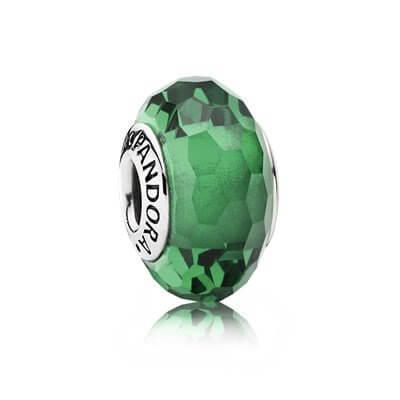 Шарм «Мурано зеленого цвета»