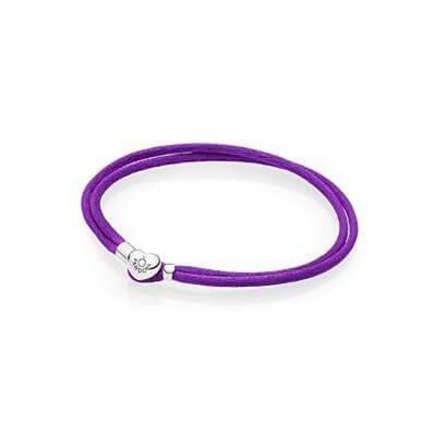 Текстильный браслет Moments, лиловый