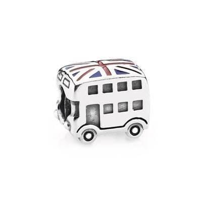 Подвеска-шарм Автобус с британским флагом