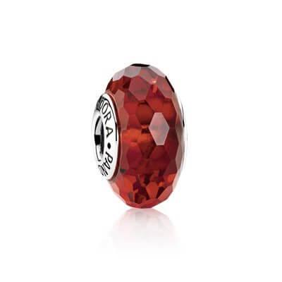 Шарм «Мурано красного цвета»