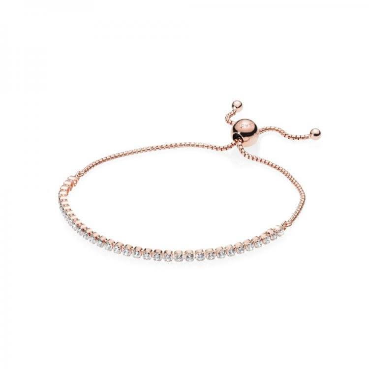 Браслет PANDORA Rose «Сверкающая нить»