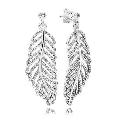 Серьги «Волшебные перья»