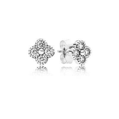 Серьги-пусеты «Восточный цветок»