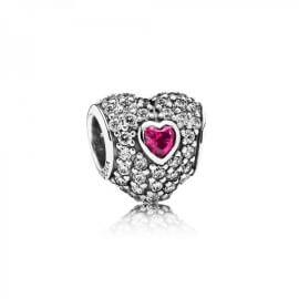 Шарм «Тройное сердце паве»