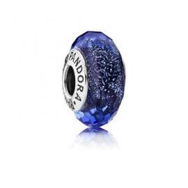 Шарм «Синее мурано с флуоресцентом»
