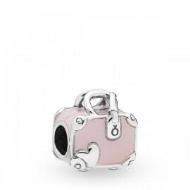 Шарм «Розовая дорожная сумка»