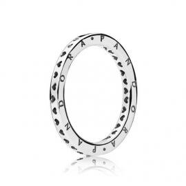 Кольцо «Логомания PANDORA»